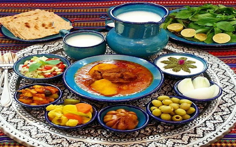 Iranian tablecloth