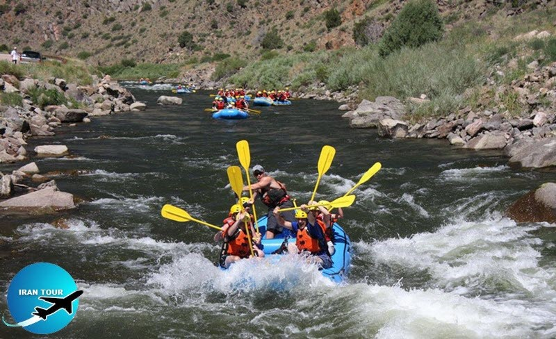 Rafting on Armand River