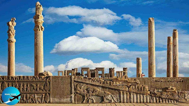 Iran with more than 12,000 years old history and with more than 1,000,000 historical sites