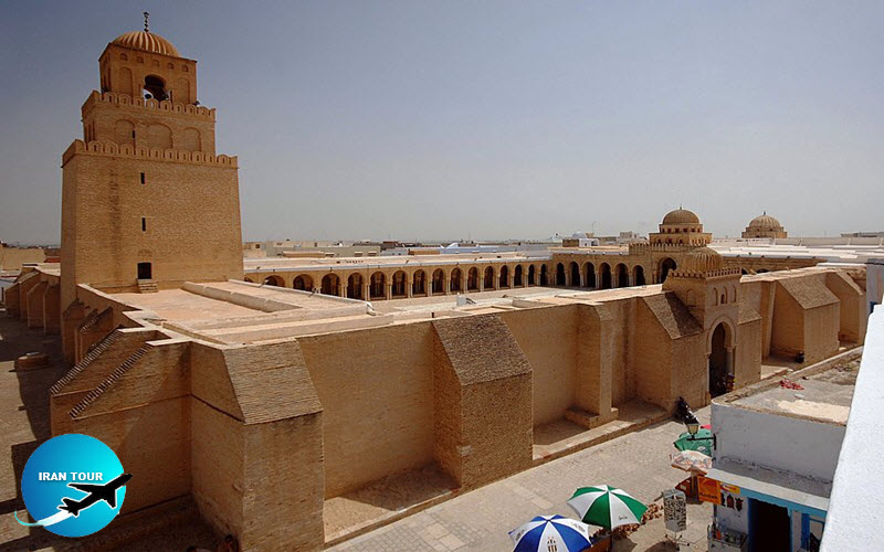 The oldest and most prestigious mosque in the Africa  Kairouan Tunisia
