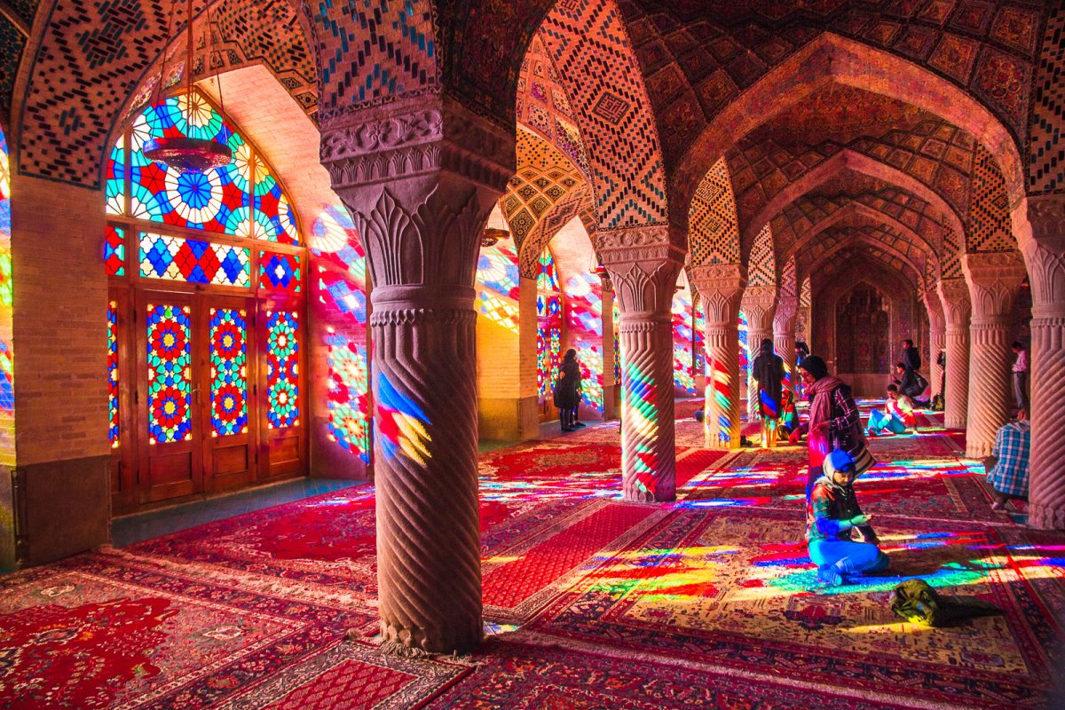 Pink Mosque or Nasir ol Molk Mosque