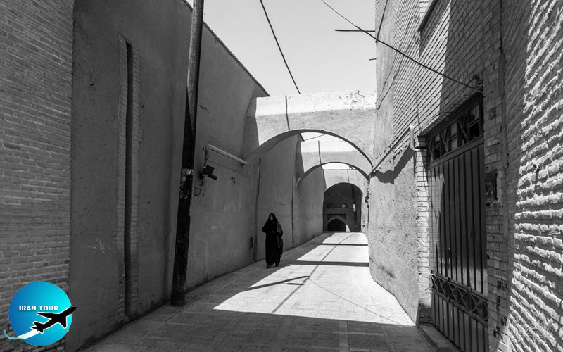 General view of Yazd's Alley
