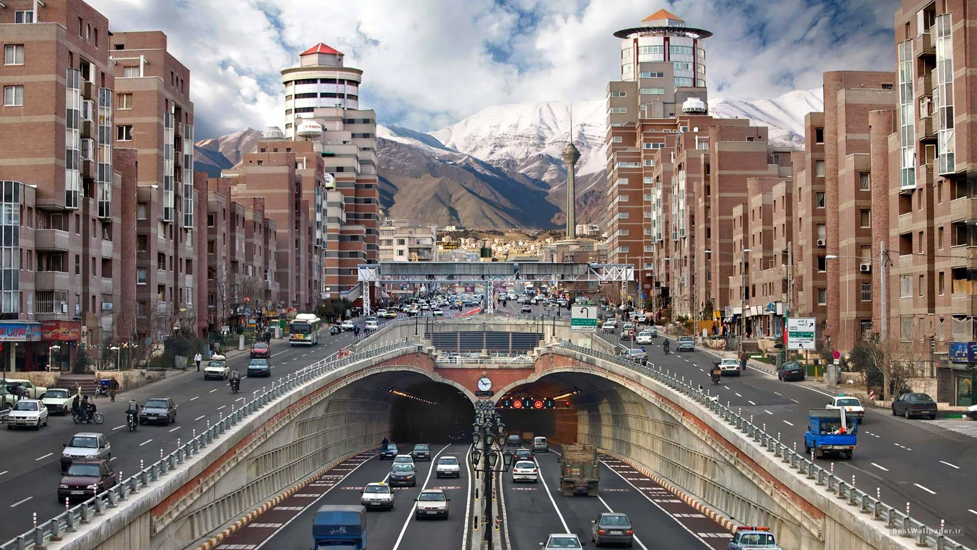 Tehran Navab High Way