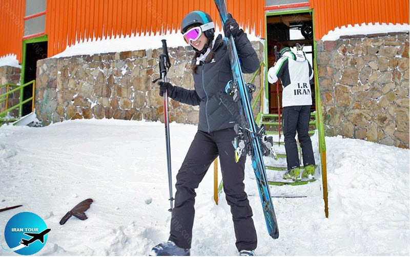 Skiing in Tehran