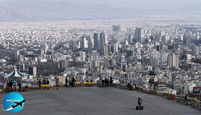 On The Roof of Tehran