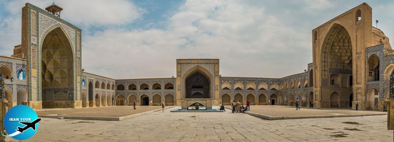 Atigh Great Mosque, the oldest mosque in Isfahan