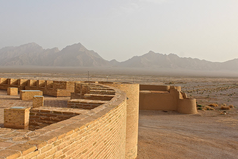 This is located at the desert of  Yazd