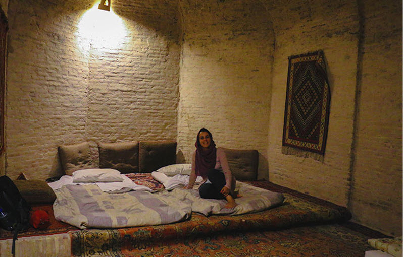 One night staying at 400 years old carevanseray
